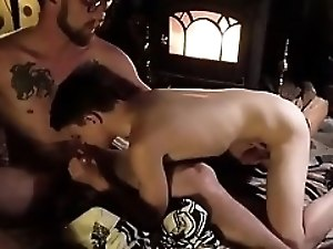 Hot gay sex boy xxx Dad Family Cabin Retreat