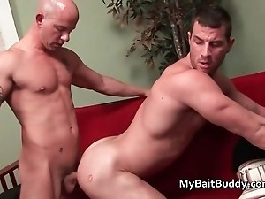 Hot gay guy fucking and sucking part2
