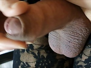 my big crossdresser cumshot