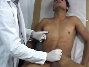 Hot naked college men gay Dr. James had me take off my tee-shirt after he