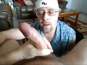 Hung Verbal Married Man Gets His Cock Worshiped