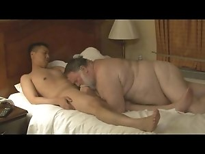 Chaser Fucks A Sexy Hairy Chubby Polar Bear Daddy