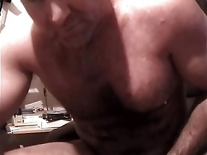 Sexy Daddy Carolina Jim Jerks Off Cum