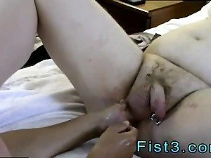 Gay emo fisting porn xxx Sky Works Brock s Hole with his Fist