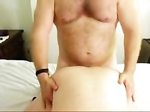 Daddy Ken fucks and feeds a Str8 Boy